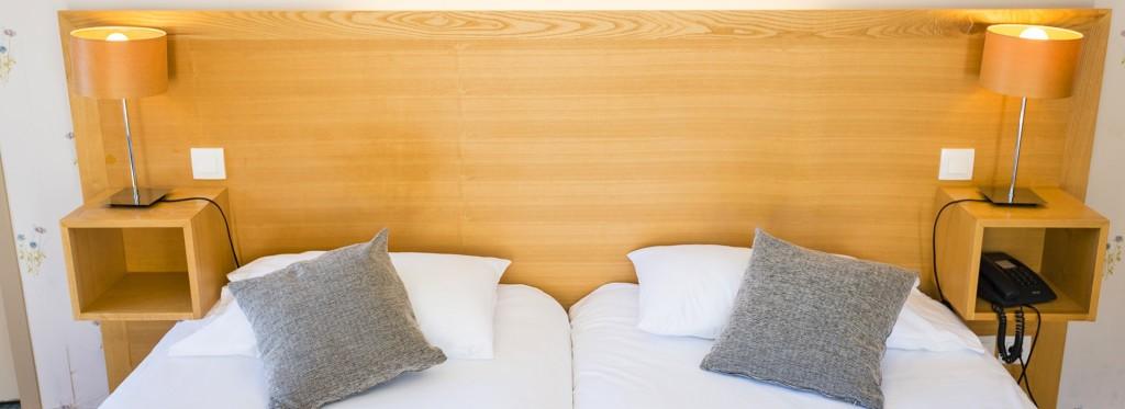 Tête de lit Chambre Prestige Hôtel Le Chalet
