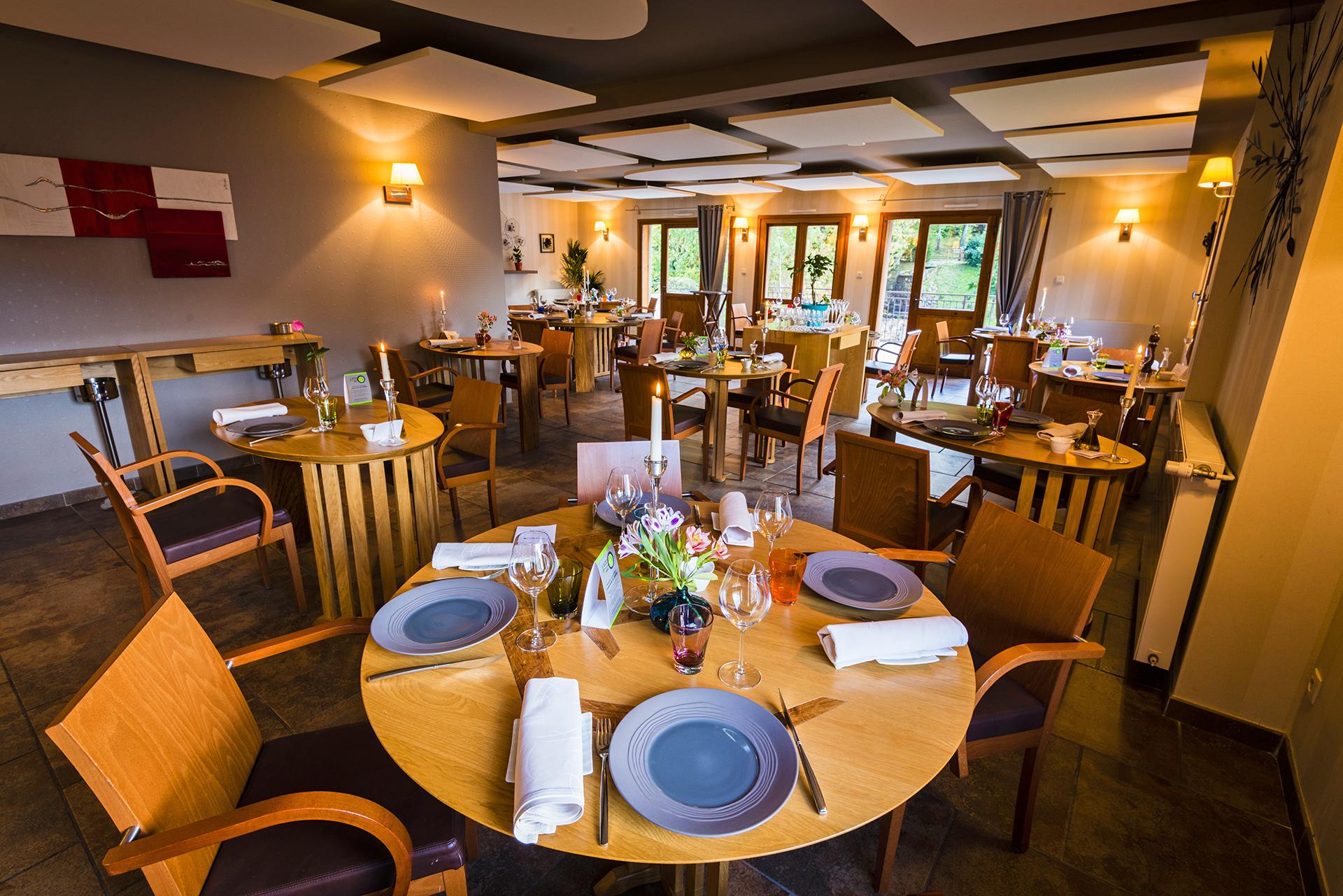 Le Chalet - Salle restaurant - Ax les Thermes - Ariège