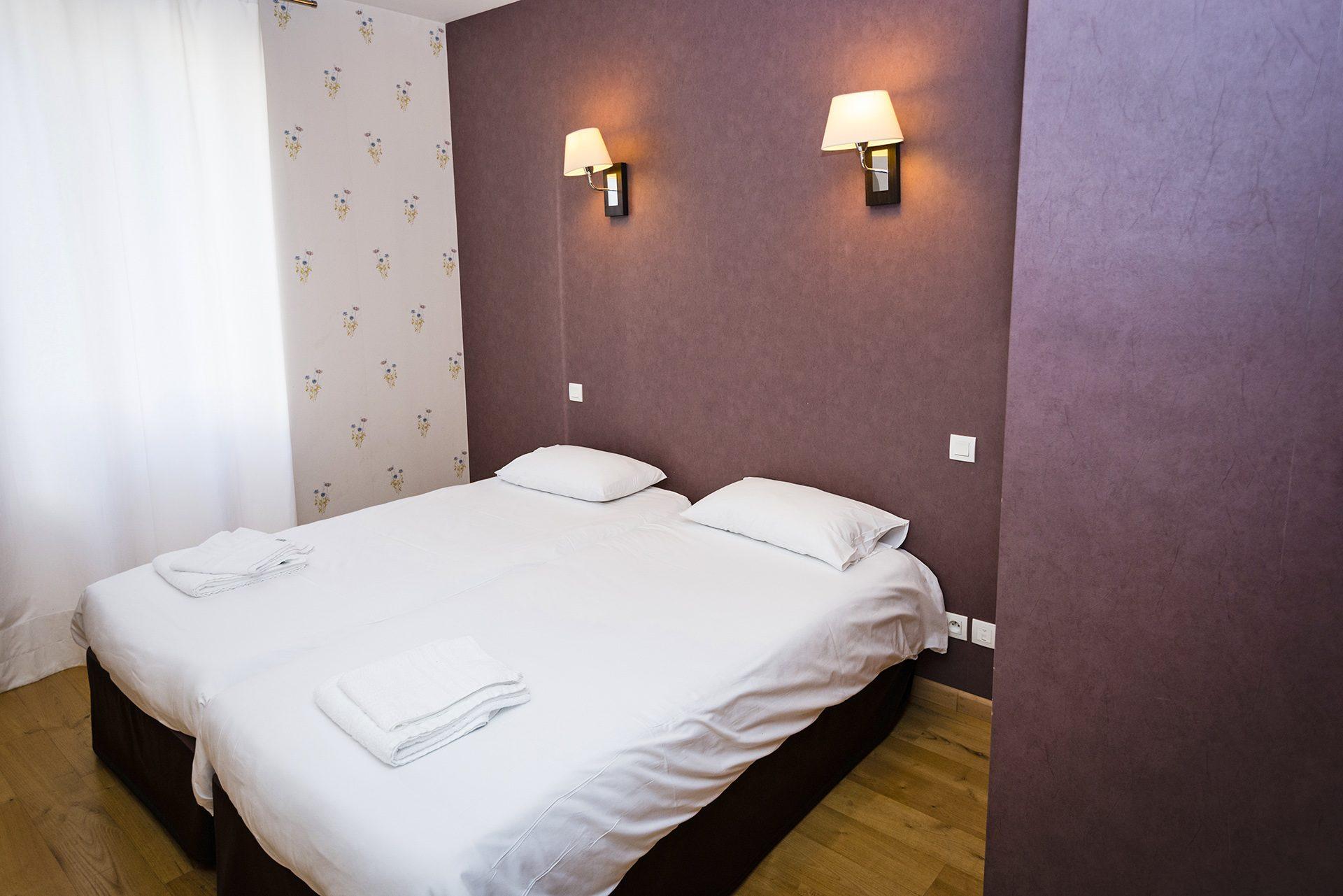 Chambre Familiale - Partie enfant - Hôtel *** Le Chalet à Ax les Thermes en Ariège Pyrénées