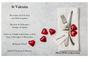 Réservez votre St Valentin au Chalet Ax les Thermes !